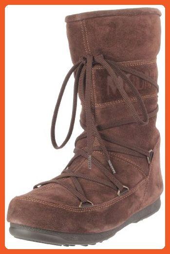 Tecnica Women's 11 Caviar Moon Boot,Dark Brown,35 EU/4.5 US - Boots for women (*Amazon Partner-Link)