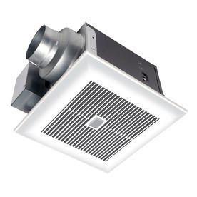 Panasonic 0.3-Sone 110-Cfm White Bathroom Fan Energy Star Fv-11Vqc5