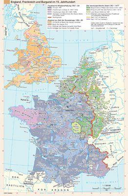 England, Frankreich und Burgund im 15. Jahrhundert