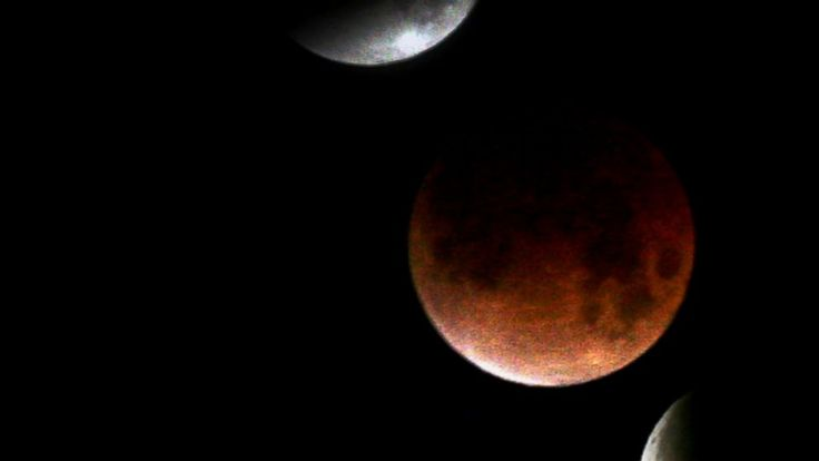 """Don't Miss Rare 'Blood Moon' Lunar Eclipse Tonight  April 14, 2014 ~ Makes me think of the scripture at Joel 2:30-31 """"And I will give wonders in the heavens and on the earth, Blood and fire and columns of smoke. The sun will be turned into darkness and the moon into blood Before the coming of the great and awe-inspiring day of Jehovah."""""""