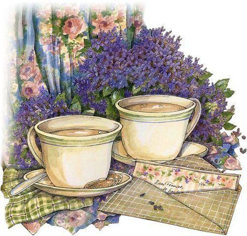 картинки для декупажа чашка с чаем глыбы называют