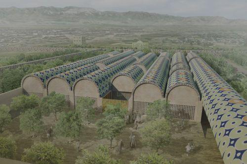 AV62 Arquitectos · Museo Nacional de Afganistán