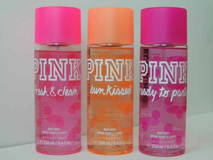 "Victoria's Secret PINK Body Mist and/or lotion (the kind with the pump) in ""Fresh & Clean"" or ""Sun Kissed"""