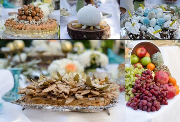 Persian Sofreh Wedding Collage Toronto