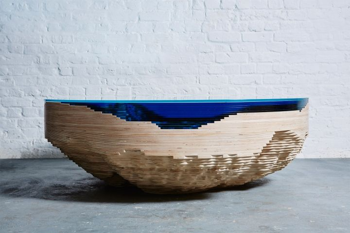 Abbys Horizon table by Duffy London » Retail Design Blog