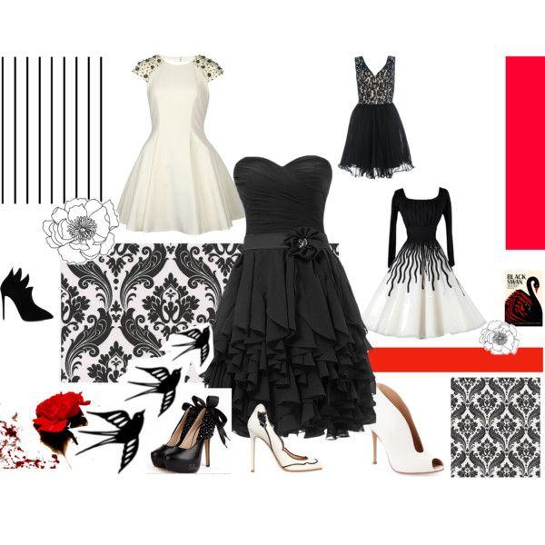 """""""Black Swan"""" by nikita-17 on Polyvore"""