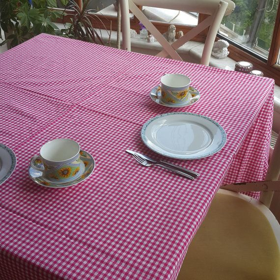 Check out this item in my Etsy shop https://www.etsy.com/listing/458373124/square-pink-large-tablecloth-tartan