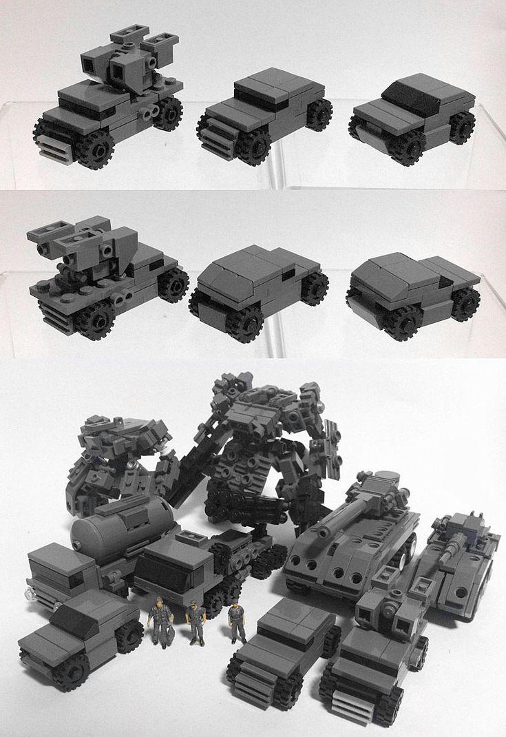 Zizy Lego vehicles