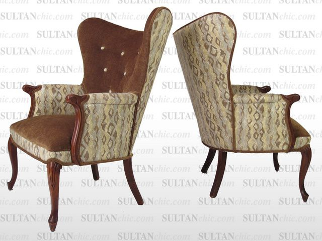 All upholstered furniture pieces featured here are one of a kind creations of artisan designer Albert Leon Sultan founder of WWW.SULTANCHIC.COM Please inquire if you'd like to purchase any piece featured here or to hire Albert to design your home. #midcentury #retro #vintage #upholstery #wingchair #upcycle #couture #furniture #art #design #interiordesign #home #love #snakeskin #sultanchic #chic #fashion