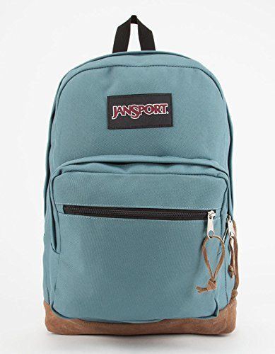 28f5e2232577 JanSport Classic Right Pack School BACKPACK Solid Color Frost Teal ...