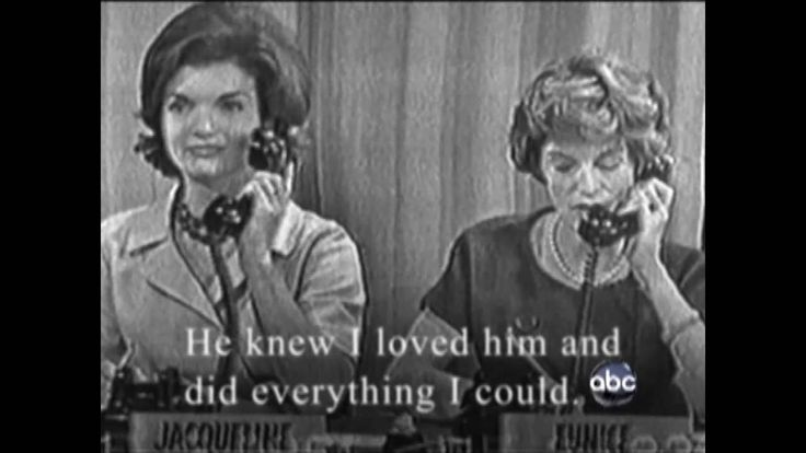 Jacqueline Kennedy In Her Own Words 2011...remarkable woman.  It's .Such a shame he wasn't loyal when she loved him so much.