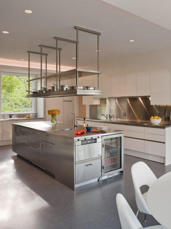 Superior Kitchen Hanging Shelves #15: Restaurant Kitchen Shelving - Google Search   Work   Pinterest   Shelves,  Gray And Restaurant