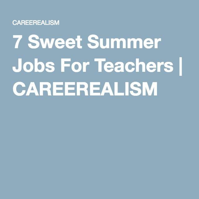 high school summer jobs