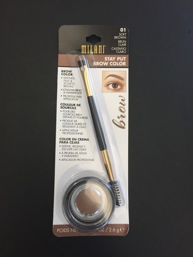 Milani's Stay Put Brow Color Has Turned Me Into An Eyebrow Fanatic, And I'm Not Mad