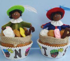 Cupcake Zwarte Piet
