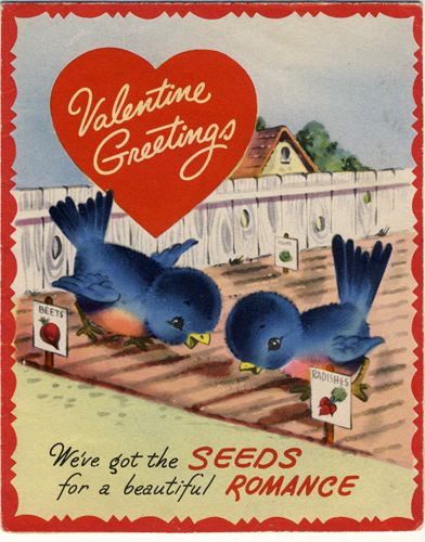 Inspiration from Vintage Valentines                              …