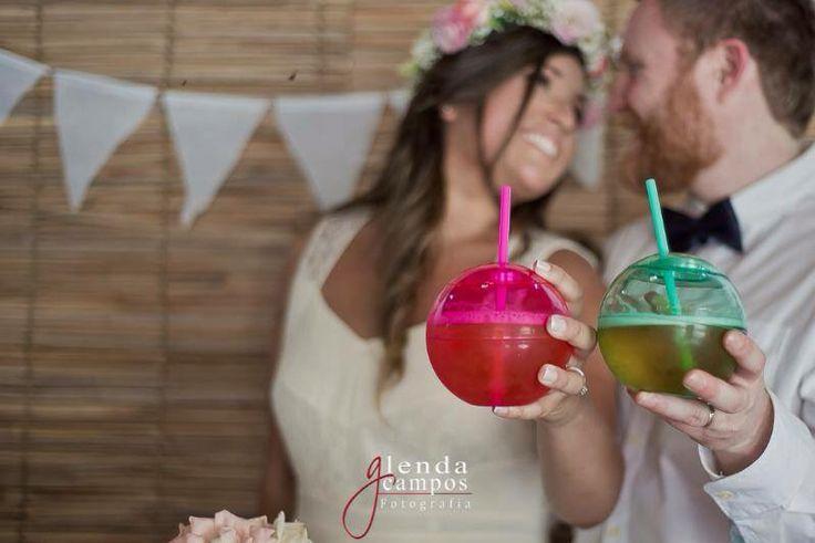 Rustic Wedding #cheers