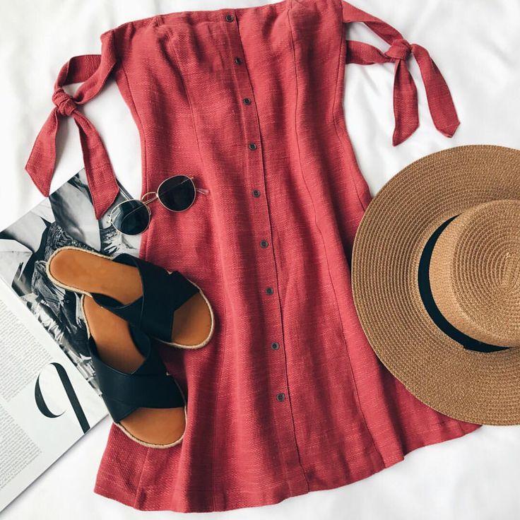 """15.2k Likes, 53 Comments - Lulus.com (@lulus) on Instagram: """"weekend ready in our @astrthelabel Araceli rusty rose dress  (link in bio) #lovelulus"""""""