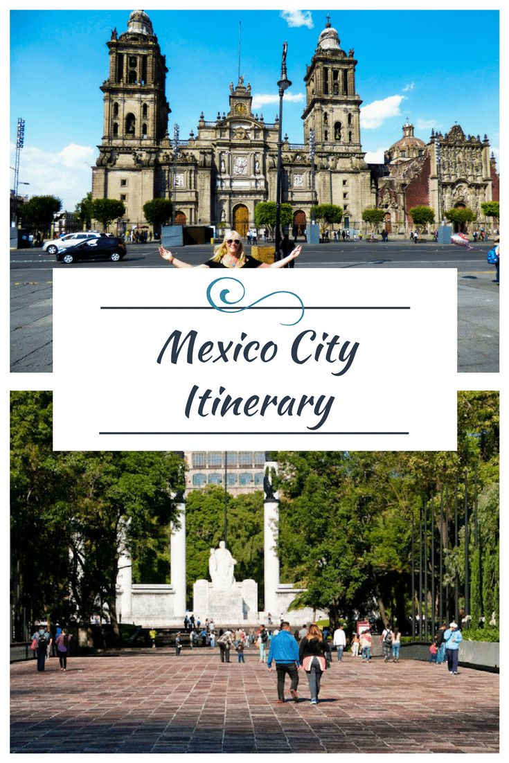 If you are hesitating to plan a visit to Mexico's capitol city because you think it's too big, dirty and dangerous you really need to reconsider. Our Mexico City Itinerary will show you all the beautiful architecture, historic sites, city parks, culture and entertainment and incredible food it has to offer. We know it will make you want to visit Mexico City as soon as possible! via @livedreamdiscov