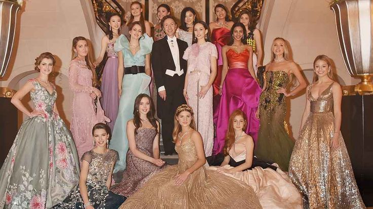 THE HAUTE COUTURE GOWNS WORN AT LE BAL DES DÉBUTANTES