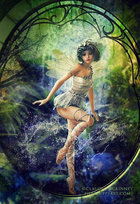 water fairy wallpaper beautiful - photo #36