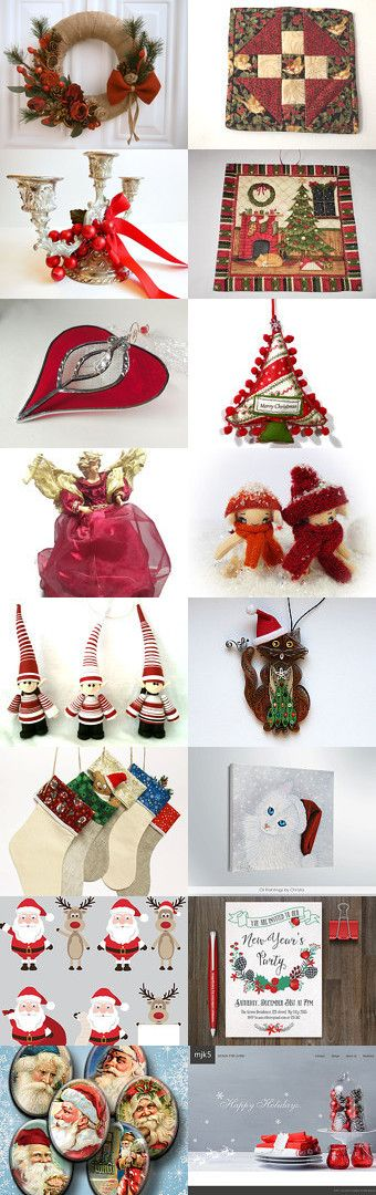 Christmas Decoration! by Anna Margaritou on Etsy--Pinned with TreasuryPin.com