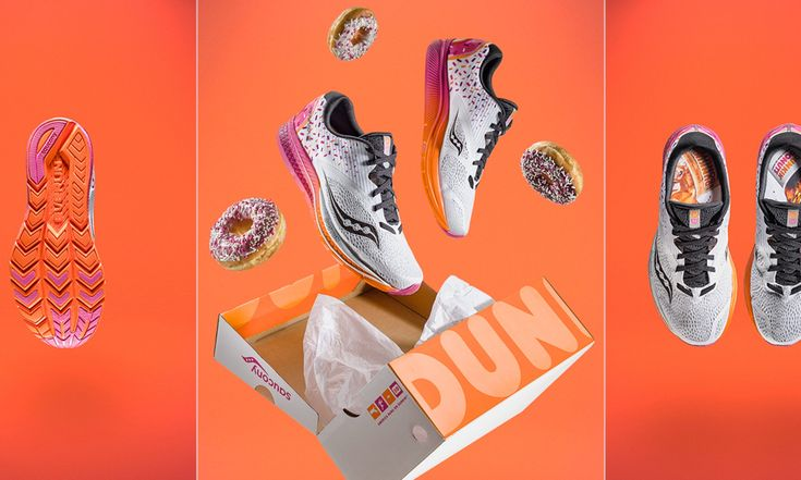 How Much Do Dunkin Donuts Saucony Sneakers Cost? More Than A Powdered Donut