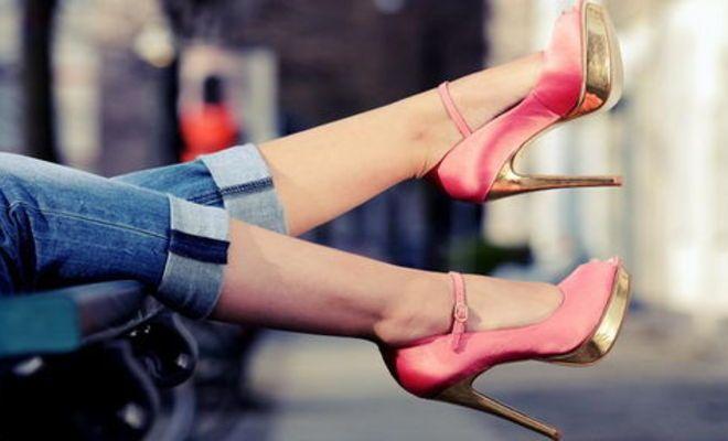 Изобретены полезные для здоровья туфли на шпильках