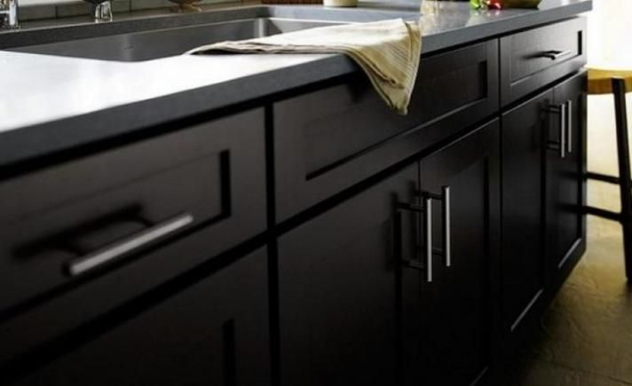 Diy Shaker Cabinet Doors Kitchen Remodel Ideas Contemporary Kitchen Black Cabinets