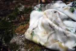 Digitally Printed Silk Satin scarf, 1m/1m.    www.siobahnpalmer.co.uk
