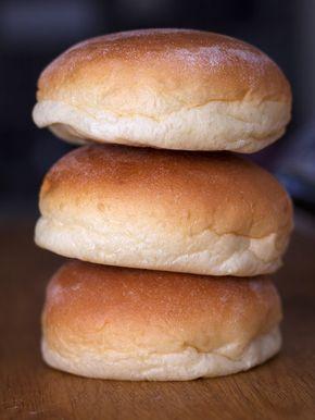 fantastiskt goda och enkla hamburgerbröd