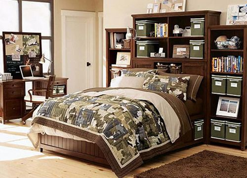 Camouflage bedroom is becoming a trend in these present days. Kids usually are the ones who are interested to get such a look right away on their bedroom. Camouflage bedroom is a challenging interior design since the parents need to get its charact