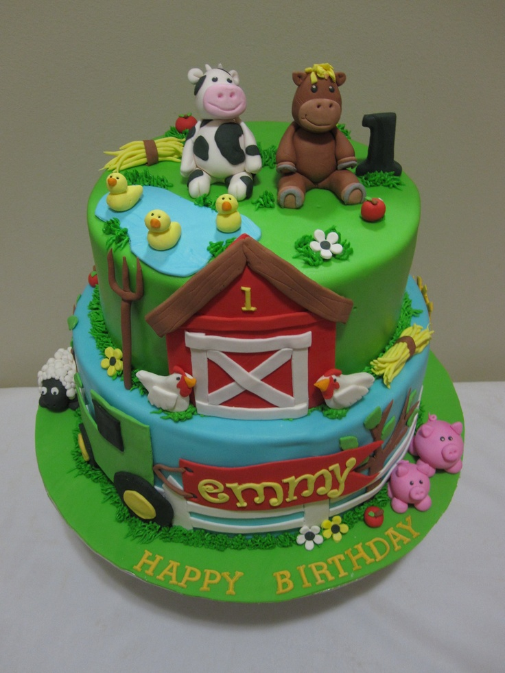farm wedding cakes ideas 1000 images about animal farm cakes cupcakes on 14208