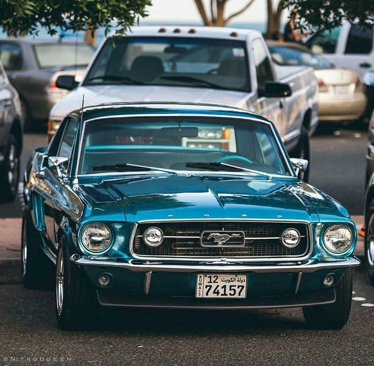 Ford Mustang Fastback ❤ #mustangclassiccars