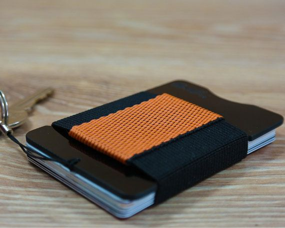 fr4™ Minimalist G10 Black Slim Front Pocket Wallet by fr4studio