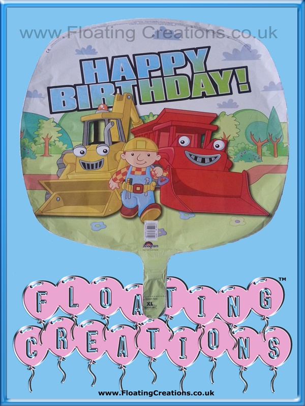 Bob the Builder Happy Birthday Balloon https://www.facebook.com/balloonsglasgow