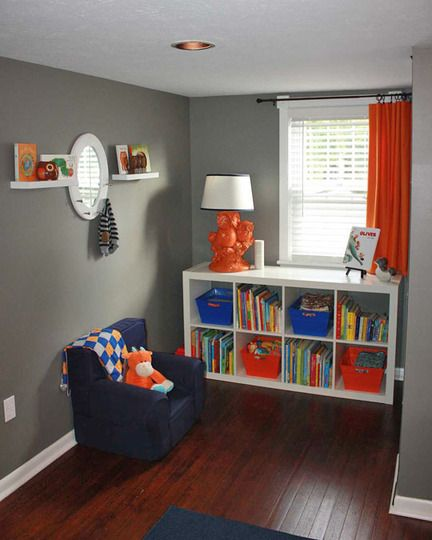 Best 25 grey orange bedroom ideas on pinterest orange - Kids room color combination ...