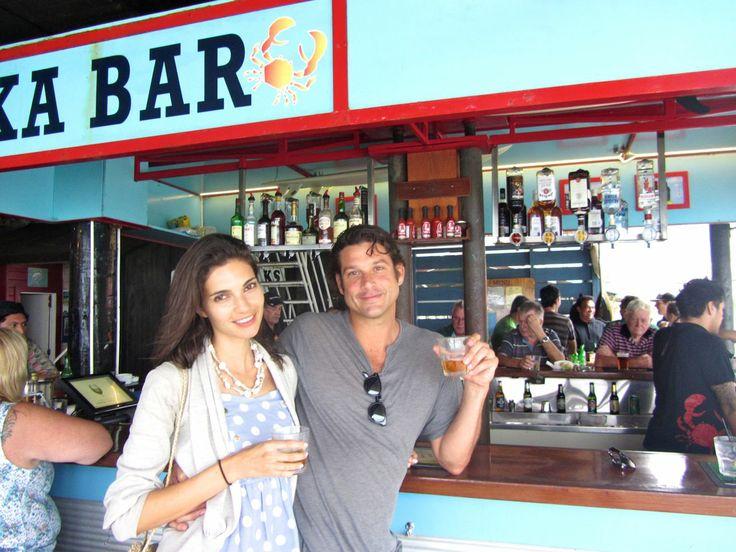 Trader Jacks Bar on the wharf #rarotonga