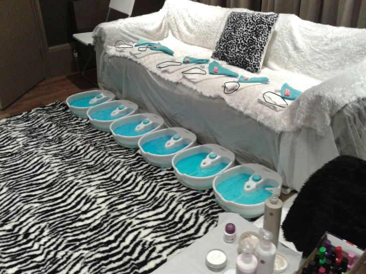17 best images about spa party ideas on pinterest for B day party decoration
