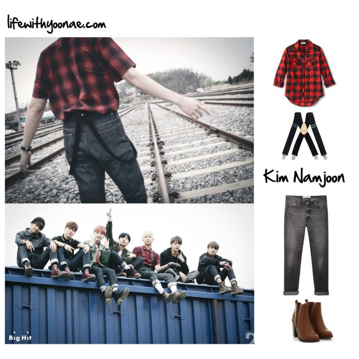 BTS I need u MV inspired by Rap Monster outfit