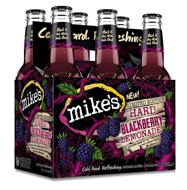 Mike's Hard Blackberry Lemonade created by Steven Noble on Behance