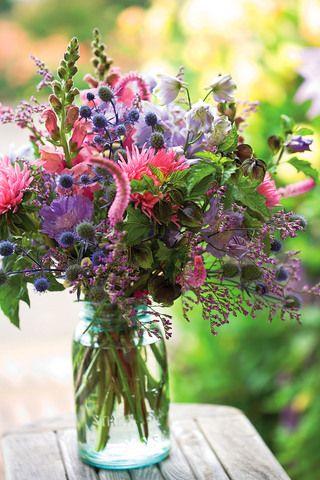 From the cutting garden...#centerpiece