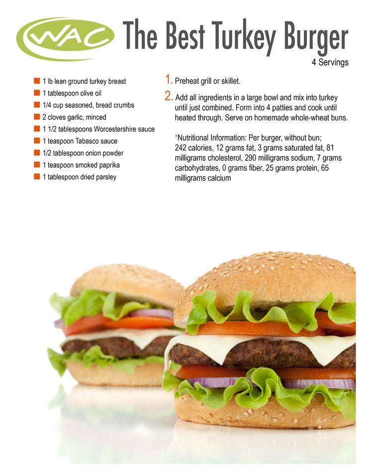 Turkey Burgers  #recipe #turkey #burgers