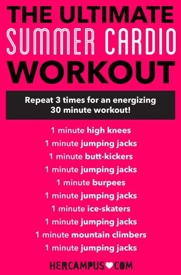 Best 25+ Cardio workouts ideas on Pinterest