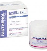 Panthenol Extra Face and Eye Cream 50ml Αντιρυτιδική Κρέμα για Πρόσωπο και Μάτια ΔΩΡΟ Καθαριστικό Προσώπου