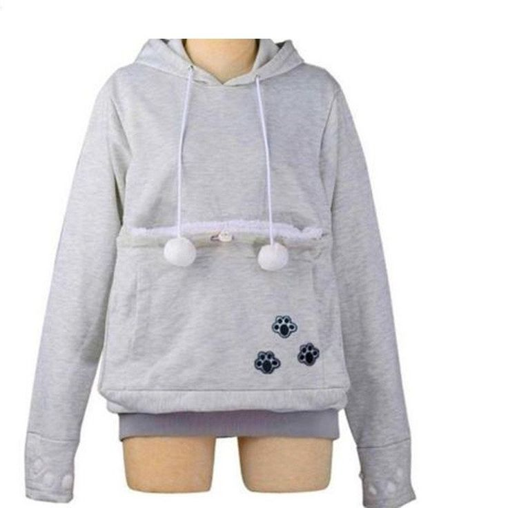 Catagaroo Hoodies with Kangaroo Pouch For Your Cat | Pet Clever