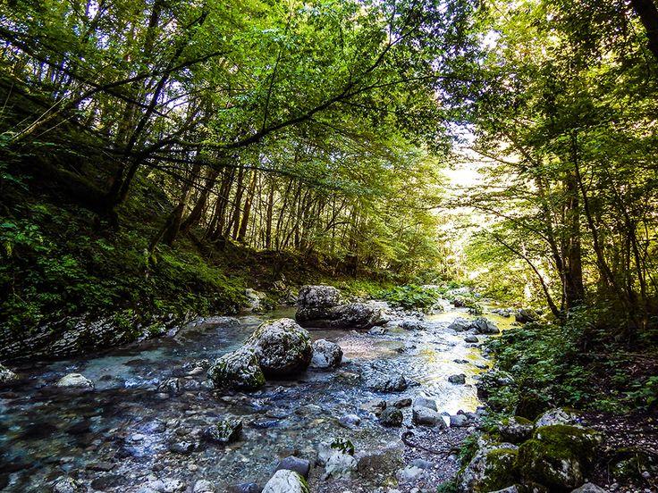 Slowenien Soca Kozjak  * Abenteuer * Individualreisen * Outdoor * Bushcraft * Natur *  www.treat-of-freedom.de