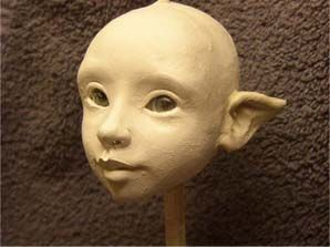 Sculpting head tutorial - Hannie Sarris