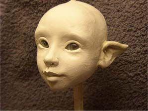 Sculpting head tutorial - Hannie Sarris