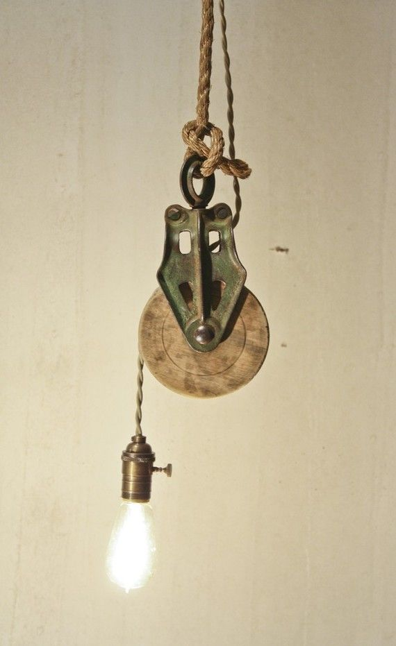 Pulley light.